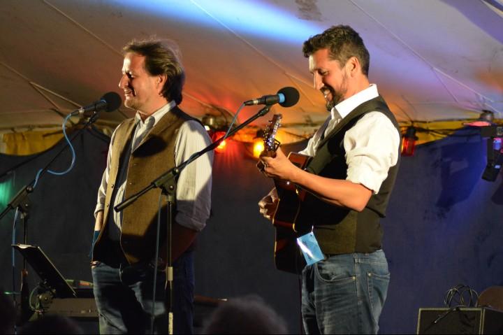 Saturday night at Bromsgrove Folk Fest